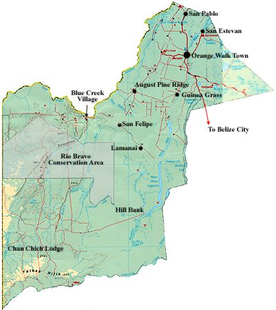 Political Map Of Belize.Belize Net The Complete Directory Index Search Engine Of